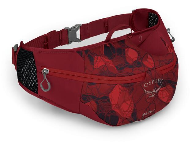Osprey Savu 2 Waist Bag claret red